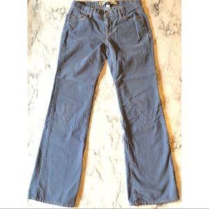 GAP Low Rise Bootcut Corduroy Pants